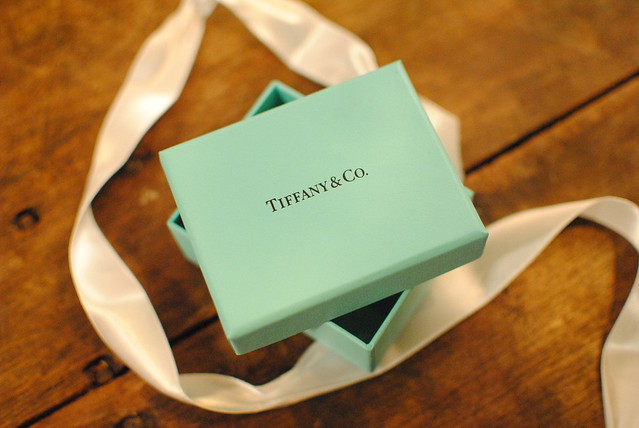 Opened Tiffany & Co. Box