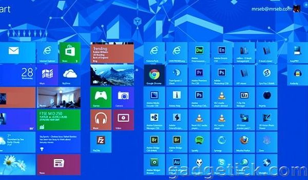 Windows 9 Blue