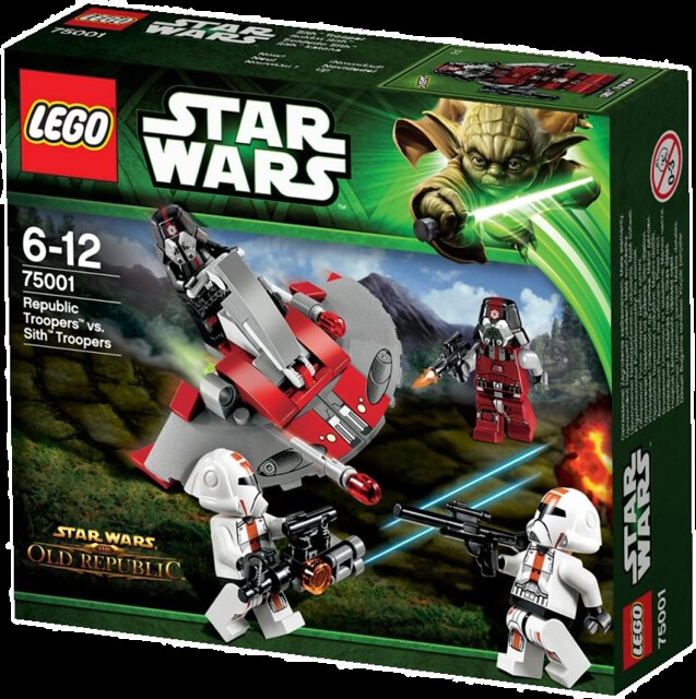 LEGO Star Wars 75001 - Republic Troopers vs. Sith Troopers - Battle Pack