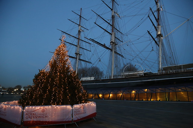 Christmas Tree and Cutty Sark