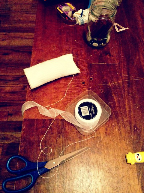 17.42: Pretending I know how to sew, assembling a package for a friend