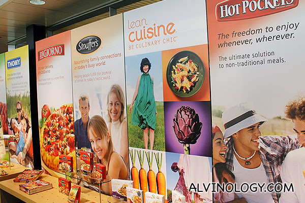 Food products around the world