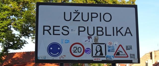 Uzupio Respublika - a micro-nation