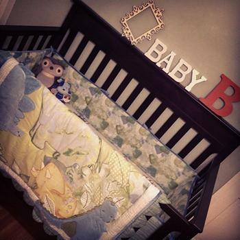 Baby B's Crib...