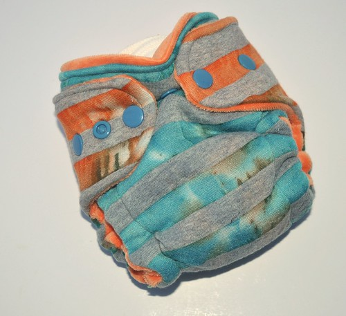 Bumstoppers Newborn Pumpkin Surprise Hybird Fitted **New Style**