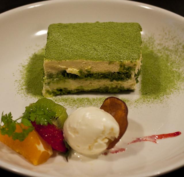 Green Tea Tiramisu.