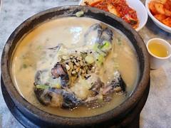 Black Chicken Samgyetang at Tosokchon