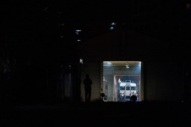 157系 クロ157-1 御料車庫へ