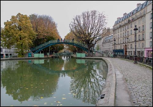 Canal St. Martin (3) by hans van egdom