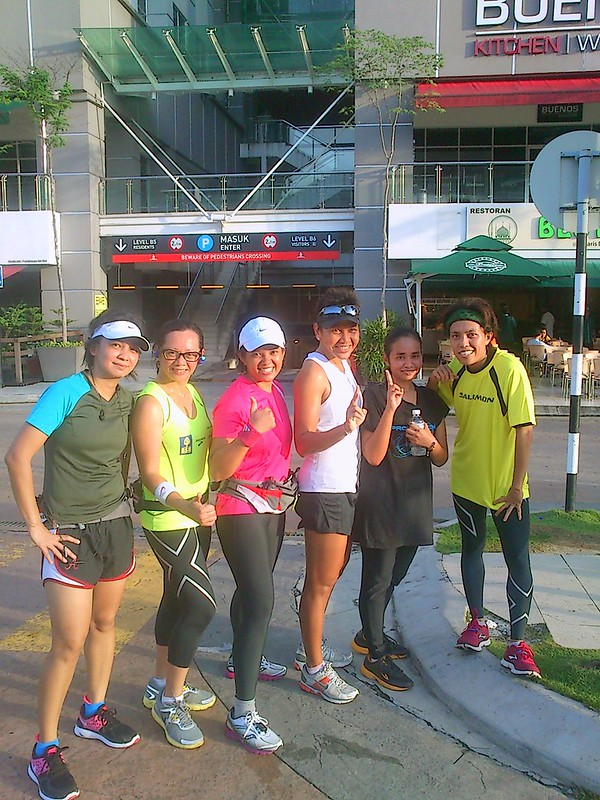 Ladies at the 19km LSD