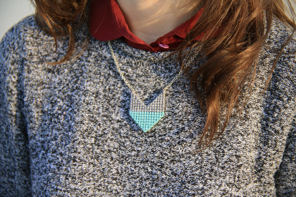 chevron necklace giveaway