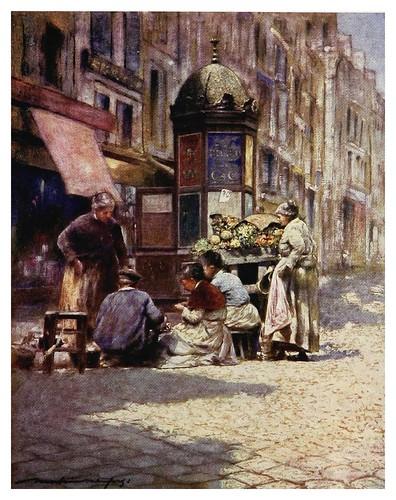 009-Pelando patatas-Paris (1909)-Mortimer Menpes
