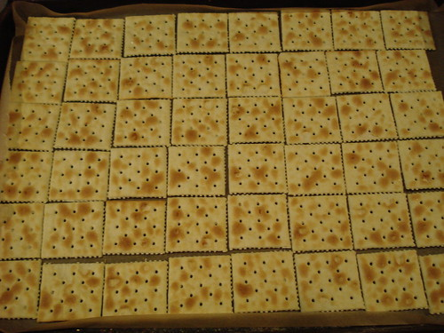 Cracker brittle