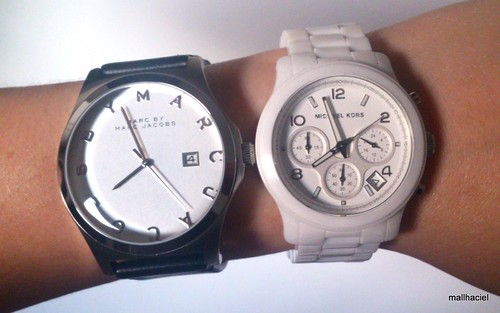 Marc by Marc Jacobs compared to Michael Kors