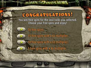 Dawn of the Dinosaurs Bonus Feature