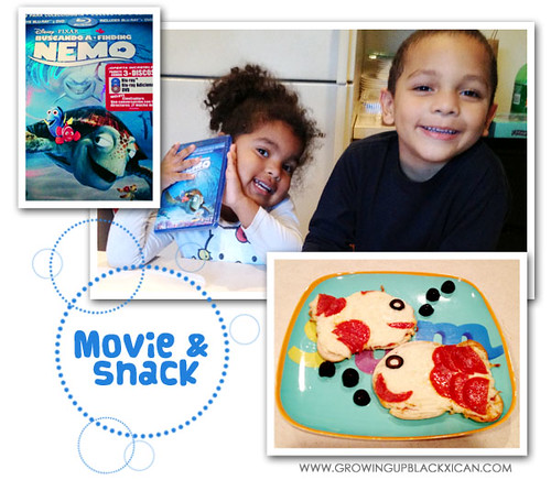 Finding Nemo Movie & snack