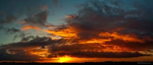 silhouette sunrise dawn eveningsun outdoor yelloworange leedsbradfordairport goldenlighthour skycloudssilhouette markwinterbournephotographycanoneosbradfordwestyorkshireunitedkingdomleedsyeadon markwinterbournephotographycanoneosbradfordwestyorkshire