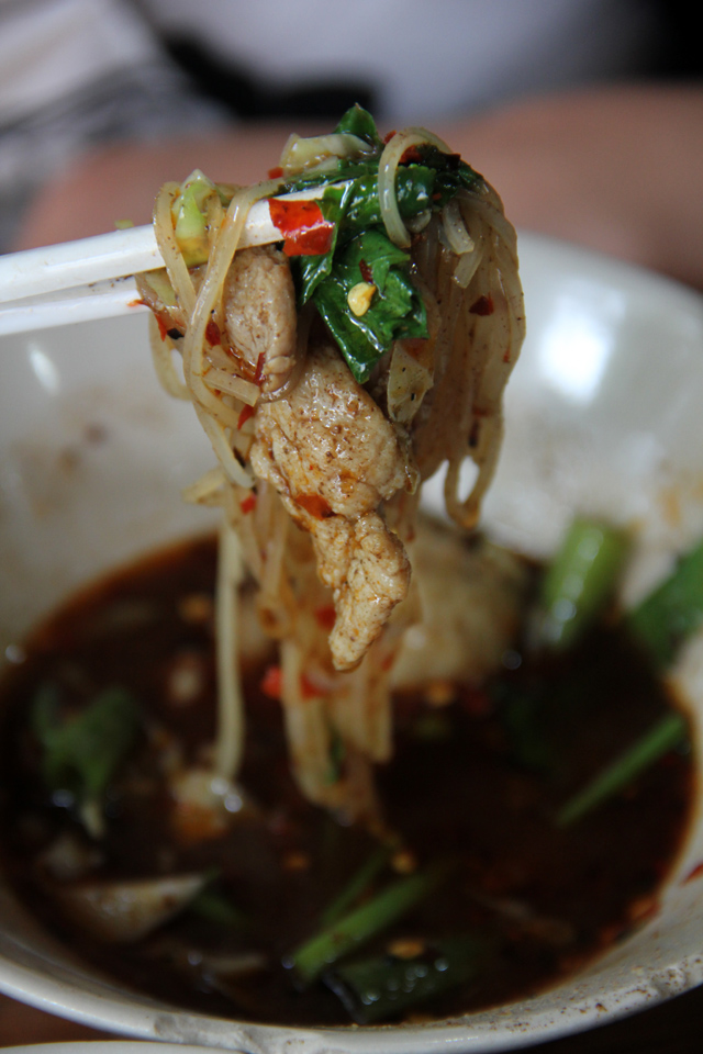 You can't go wrong with boat noodles!