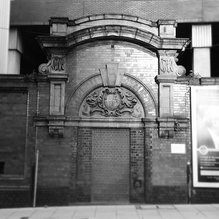 Doorway to Nowhere - All that remains of the Old Snow Hill Station today