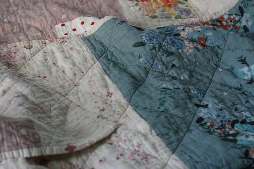 Quilt Comforter Back