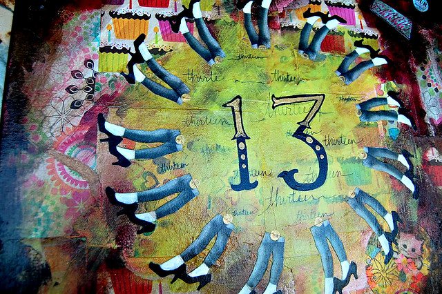 She's 13 detail