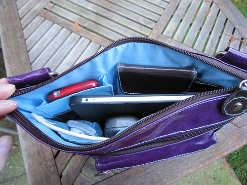 Urban Junket's Jen Powered Crossbody iPad Bag