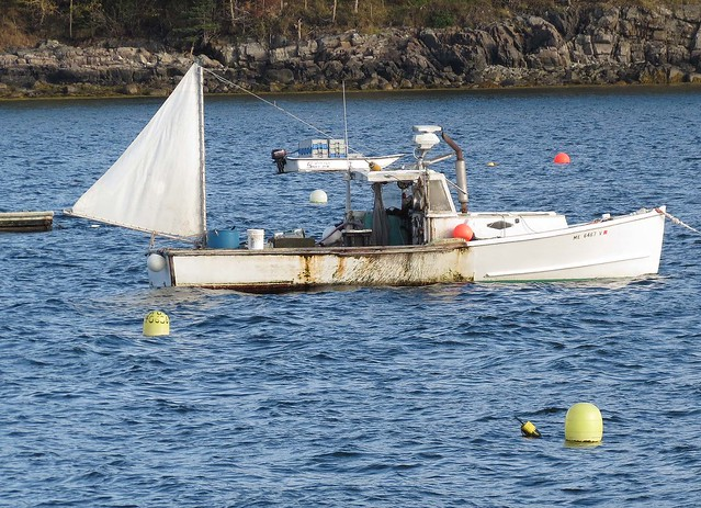 Lobster fishing boat bar harbor maine flickr photo for Lobster fishing in maine