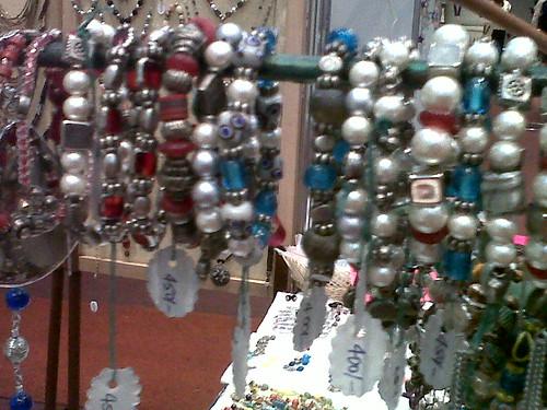 handmade bracelets at Sarit Craft fair