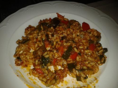 Zaragoza | Toscana Pasta & Pizza | Rissoto con verduras al pesto