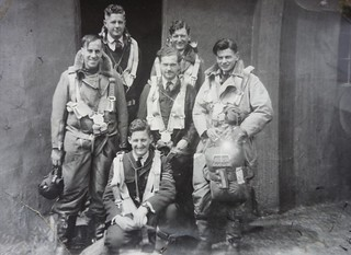 RAF Moreton in Marsh Wellington Bomber Crew