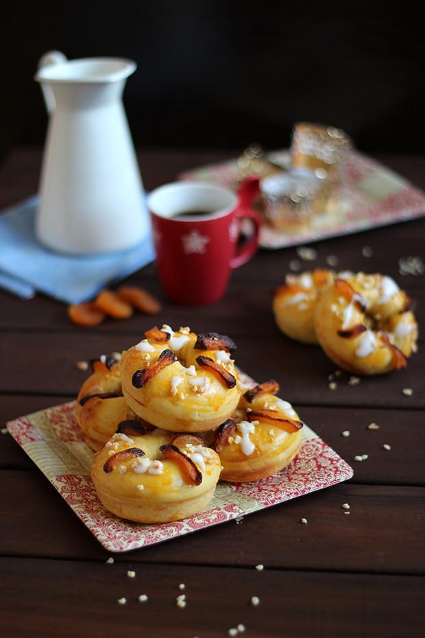 Mini roscones o donuts de reyes rico sin az car - Roscones de reyes ...