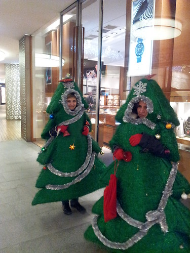Mozgó Karácsonyfák