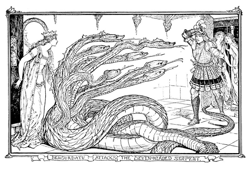 Henry Justice Ford - The grey fairy book edited by Andrew Lang , 1905 (illustration 7)
