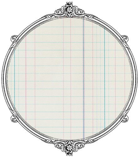 8 antique ledger paper -  free printable paper SAMPLE