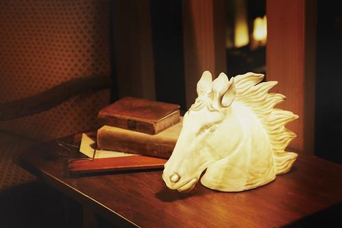 "ART WORK STUDIO ""Ceramic horse head"""