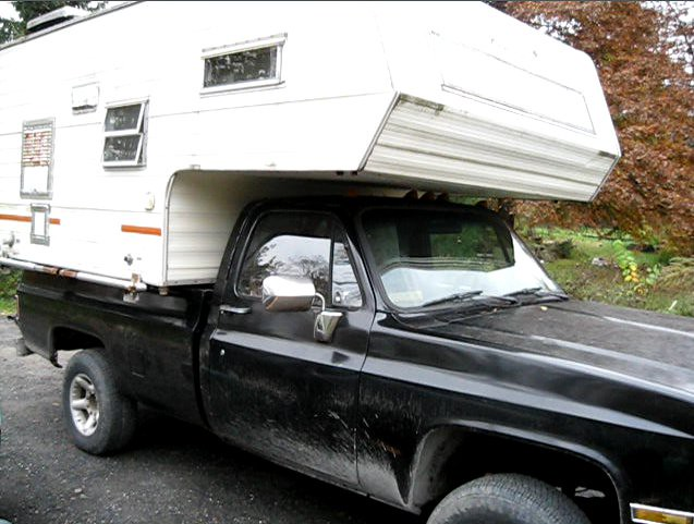 Truck Camping Shelter : Survival shelter and truck flickr photo sharing