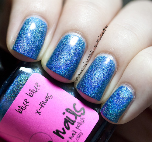 Jindie Nails Blue Blue Xmas