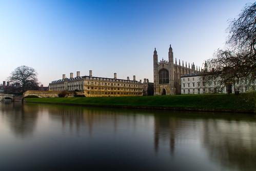 city uk longexposure cambridge sunrise kings colleges