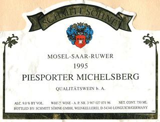 1995 - Piesporter Michelsberg (Mosel)