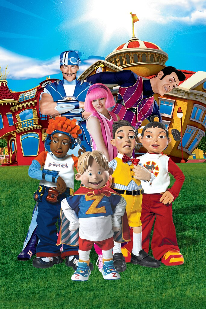 The LazyTown Gang
