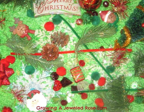Christmas Sensory Bin (Photo from Growing a Jeweled Rose)