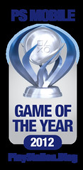 PS.Blog Game of the Year 2012 - PS Mobile Platinum