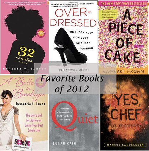 Favorite Books of 2012