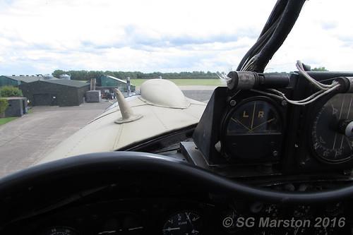 Avro Lancaster B VII Pilot's View