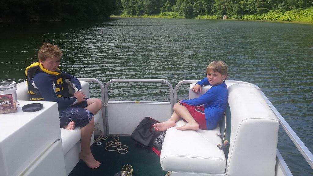 O-A-K Florida Superintendent, Tim Harkins, son's enjoying summer camp up north.