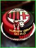 Cake AC Milan
