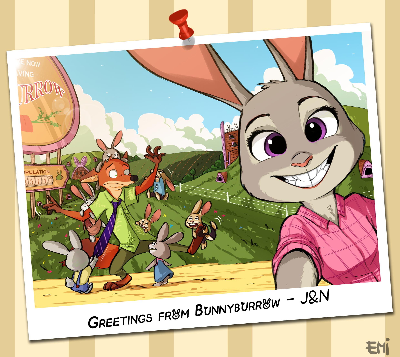 Art of The Day #138: Bunnies, Bunnies Everywhere