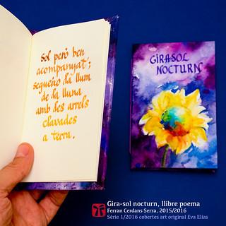 Sol però ben acompanyat —del llibre de poemes curts en català Gira-sol nocturn