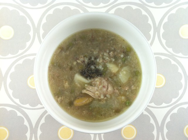 Ajiaco Bogotano, Colombian Chicken and Potato Soup – Writing With My ...