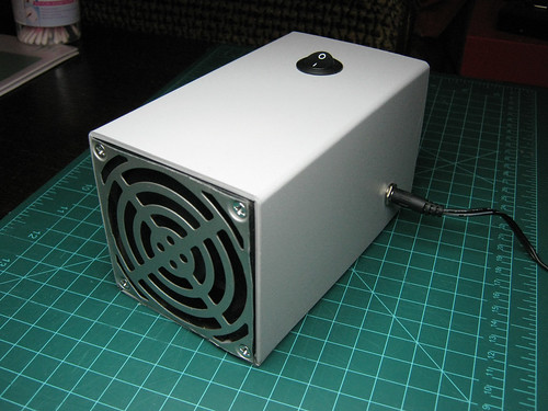 DIY fume extractor - ready to go